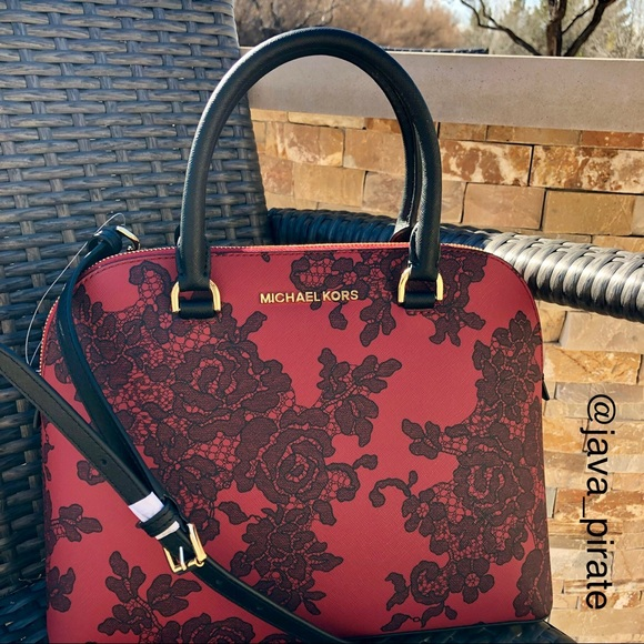 0d80950d9b5f MICHAEL Michael Kors Bags | Michael Kors Scarlet Cindy Dome Satchel ...